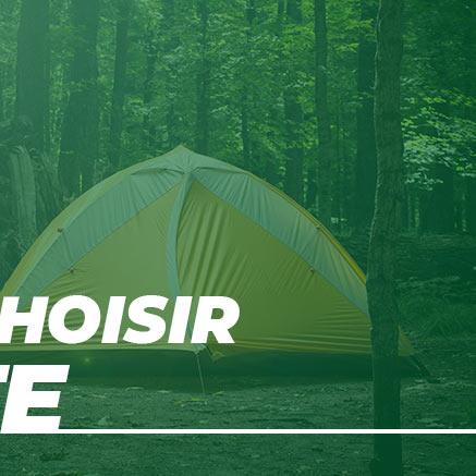Choisir sa tente