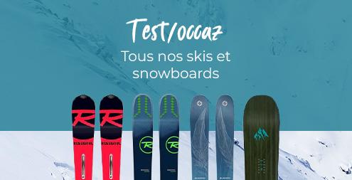 Achat matériel de ski, snowboard et randonnée | Sports Aventure