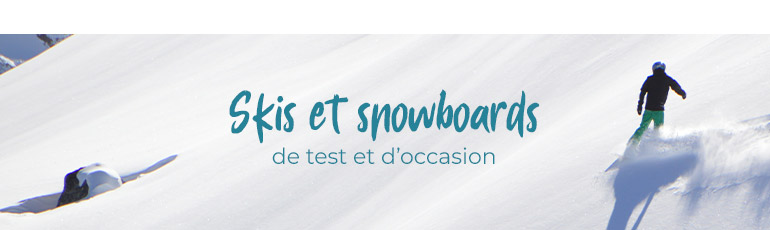 banner tests et occasions