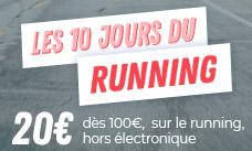10 jours du running